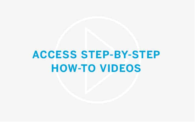 Access Step-By-Step How-To Videos