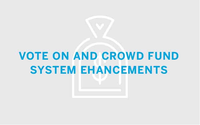 Vote On and Crowd Fund System Enhancements