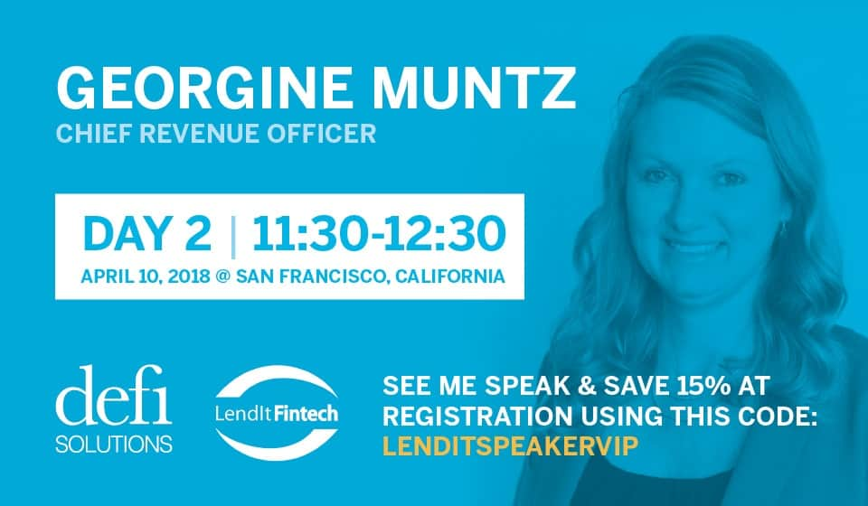 Georgine Muntz Chief Revenue Office Speaks at Lendit