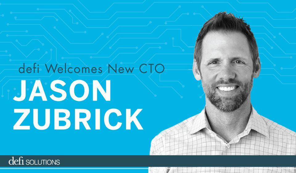 defi Welcomes New CTO Jason Zubrick
