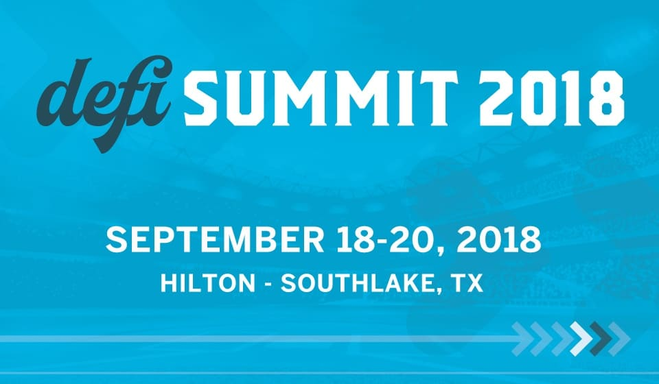 defi SUMMIT 2018 September 18-20