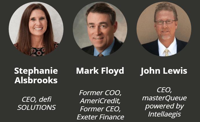 Stephanie Alsbrooks, Mark Floyd, John Lewis